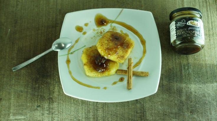 Leche Frita con Salsa Pedro Ximenez con pasas (2)