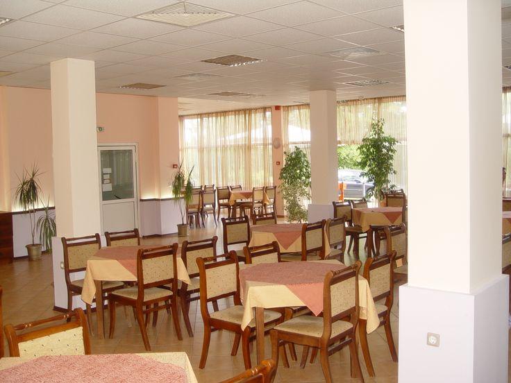 Jadalnia w hotelu w Bułgarii