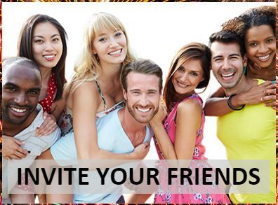 http://www.lottefree.com/?refid=0e6b4169  Invite your friends to join LOTTEFREE for free and receive 3 (three) Free Entries for each new player who registered using your personal reflink. As new players receive 3 (three) Free Entries as a welcome bonus this is a win-win situation. You can place all your Free Entries in one draw or you can keep your Free Entries for future draws. You can't use your Free Draws for JACKPOT DRAW entries. And now ENTER. WIN. HAPPY.