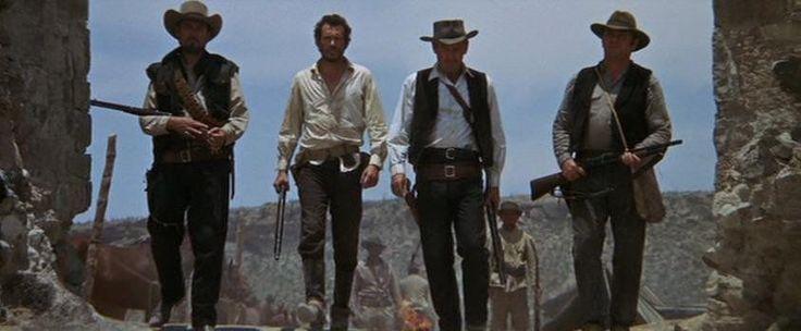 THE WILD BUNCH (1969) Director of Photography: Lucien Ballard | Director: Sam Peckinpah