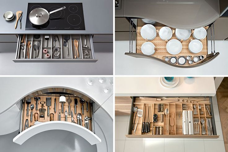 Kitchen Drawer Organization – Design Your Drawers So Everything Has A Place