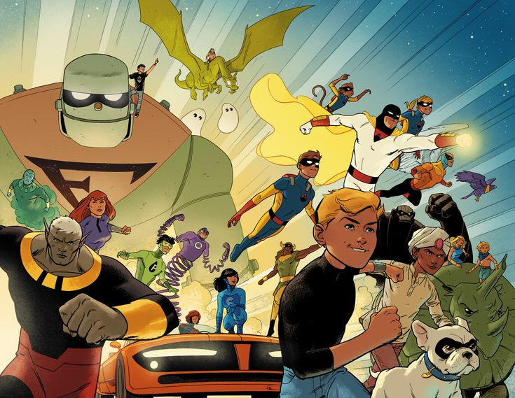 FUTURE QUEST #1/Search//Home/ Comic Art Community GALLERY OF COMIC ART