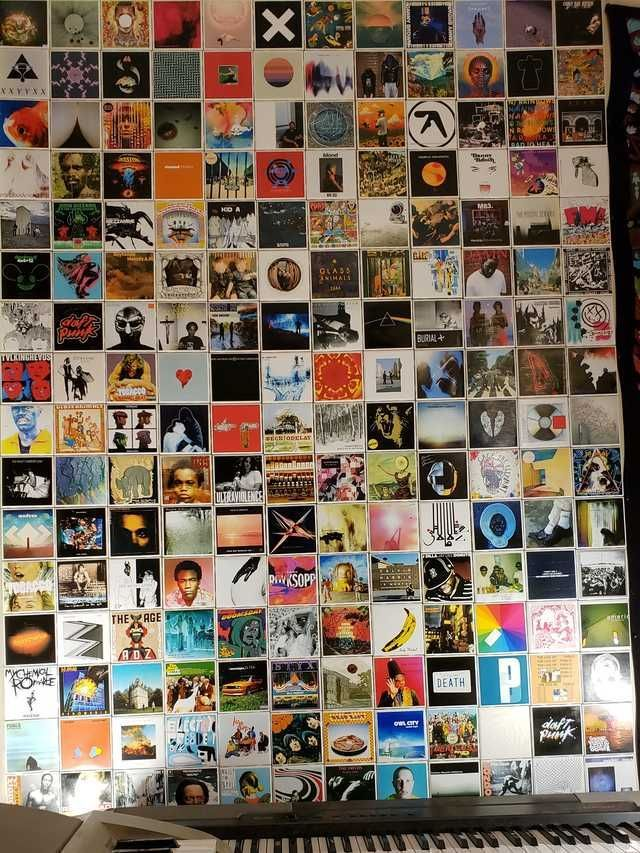 Album Covers Wall Decor Album Covers Music Wall Decor Grunge Room Aesthetic Room Decor