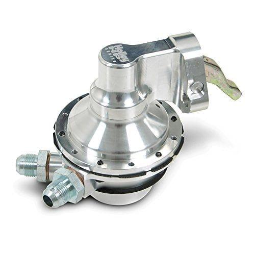 Holley 12-454-25 Fuel Pump - Mechanical Hp Bbc, Silver aluminum