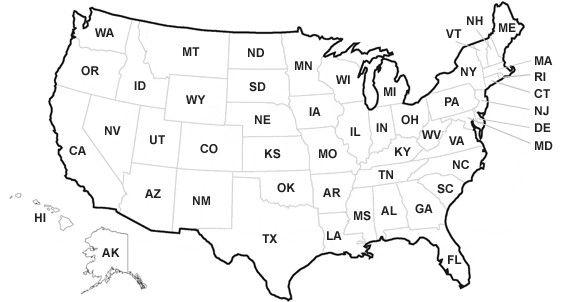 40 Iowa Concealed Carry Reciprocity Map Oa1u di 2020