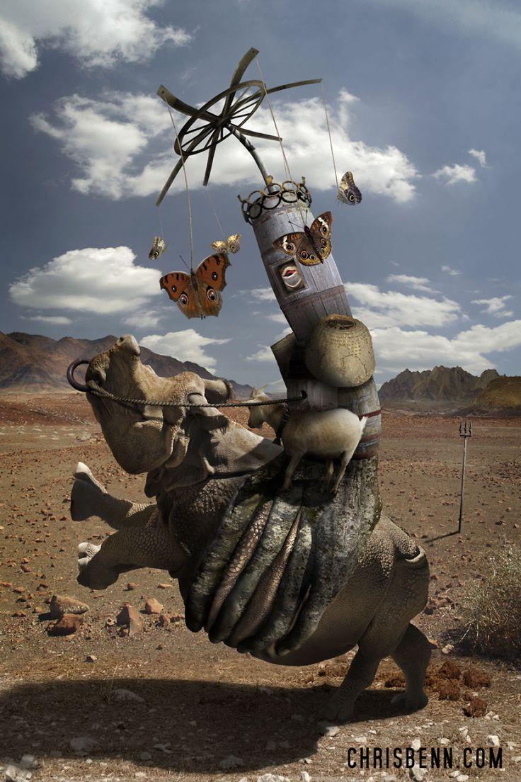 Les animaux surréalistes de Chris Bennett 2Tout2Rien