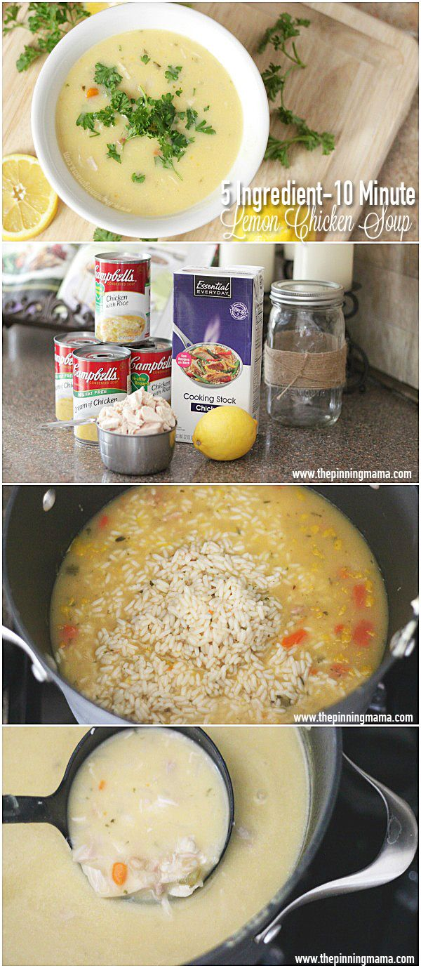 You will be in LOVE with this chicken soup recipe. It is so easy it is ridiculous and so so delicious!
