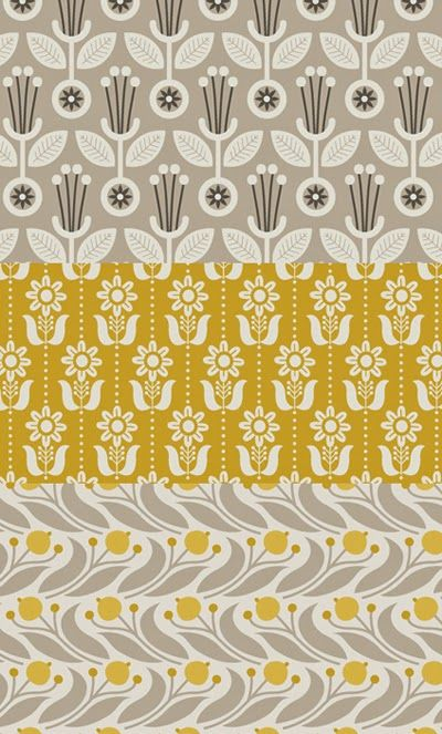 Elisabeth Olwen on print & pattern blog