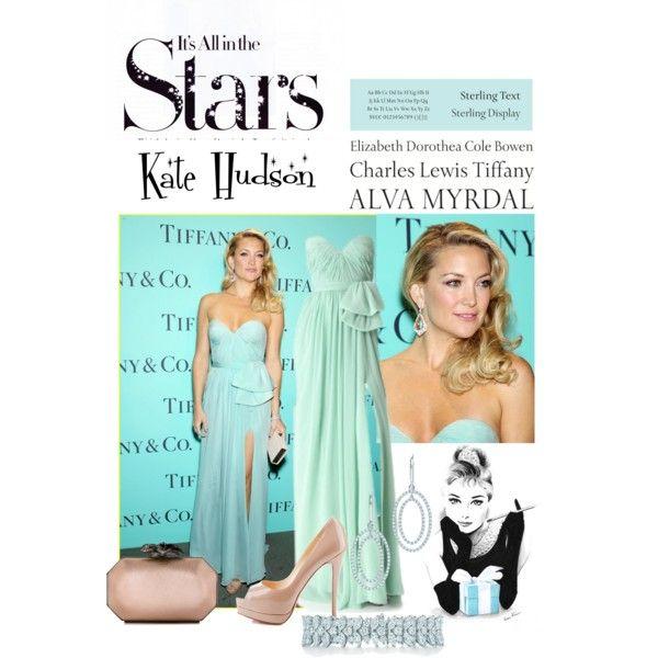 """Kate Hudson | Tiffany Blue Book Ball"" by ilaryilaria on Polyvore"