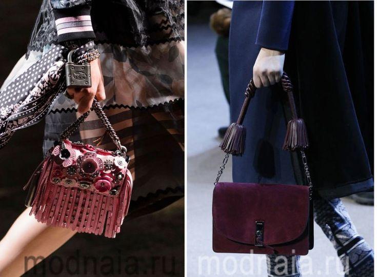 Модные сумки 2017 года в стиле бохо