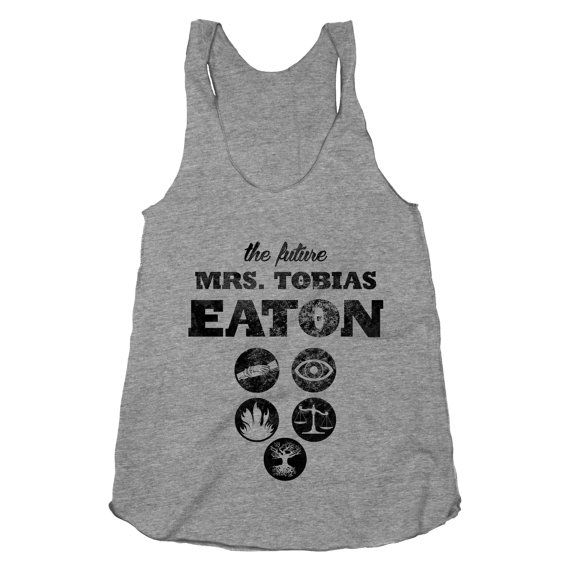 The Future Mrs. Tobias Eaton Divergent Shirt Movie by ProxyPrints