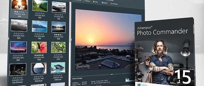 Photo Commander 15: Praktische Foto-Software für jedermann