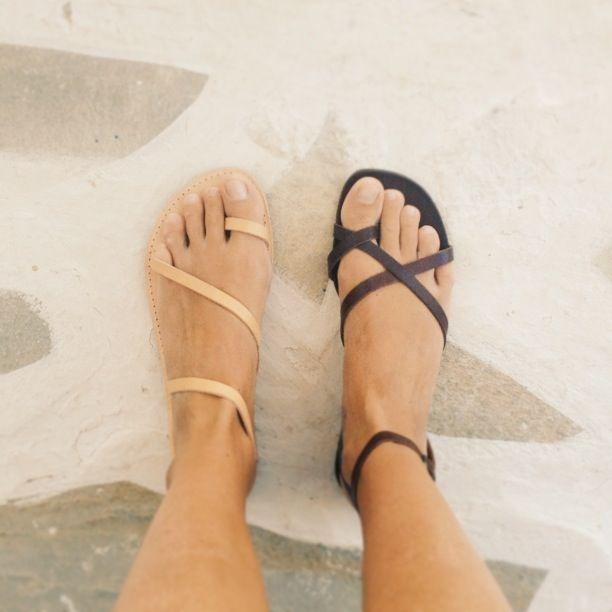 f0e6e6a24e9a66 Greek sandals. Love the nude ones! …