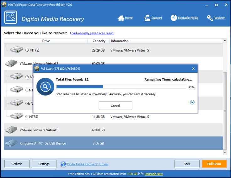 2 scan hard drive for photo recovery