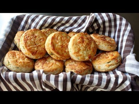 Food Wishes Video Recipes: Irish Cheddar Spring Onion Biscuits - They Only Sound Irish