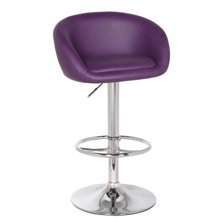 Apollo Upholstered Gas Lift Bar Stool Dunelm Home