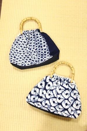 Arimatsu Shibori Bag 有松絞り