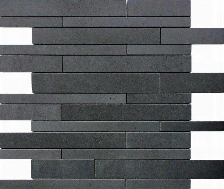 black wall tile flooring for home