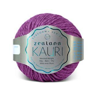Zealana KAURI Worsted K10 Red Waina