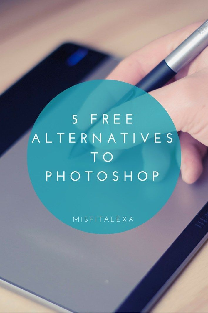 Today, I'm talking about my five favorite free photo editing programs that you can use instead of photoshop. Check them out!