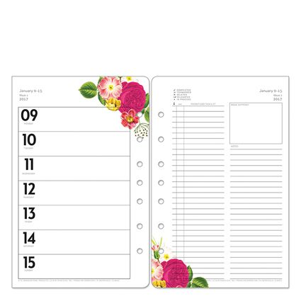 Botanicals Planner Love Ring-bound Weekly Planner