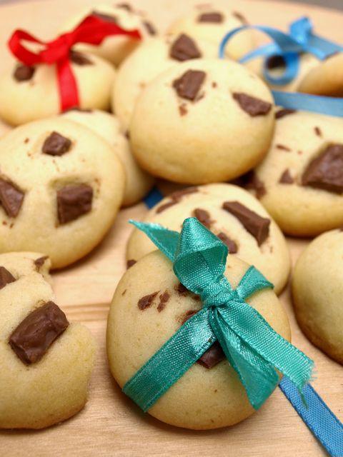 Ciasteczka z czekoladą - dzieci zrobią je same