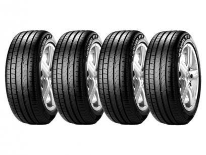 """Kit 4 Pneus Aro 15"""" Pirelli 195/55R15 - Cinturato P7 com as melhores condições você encontra no Magazine Raimundogarcia. Confira!"""