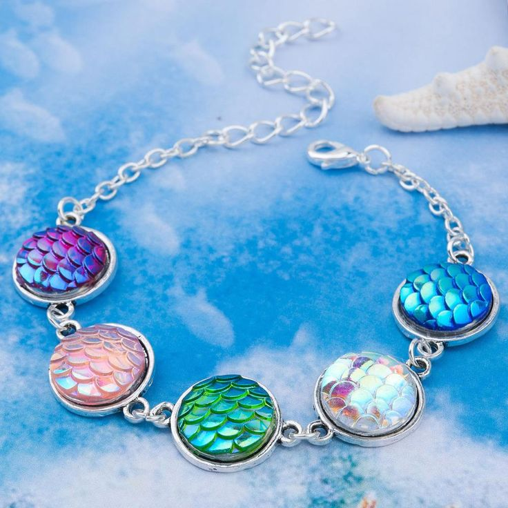 Luxury Multicolor Mermaid Bracelet