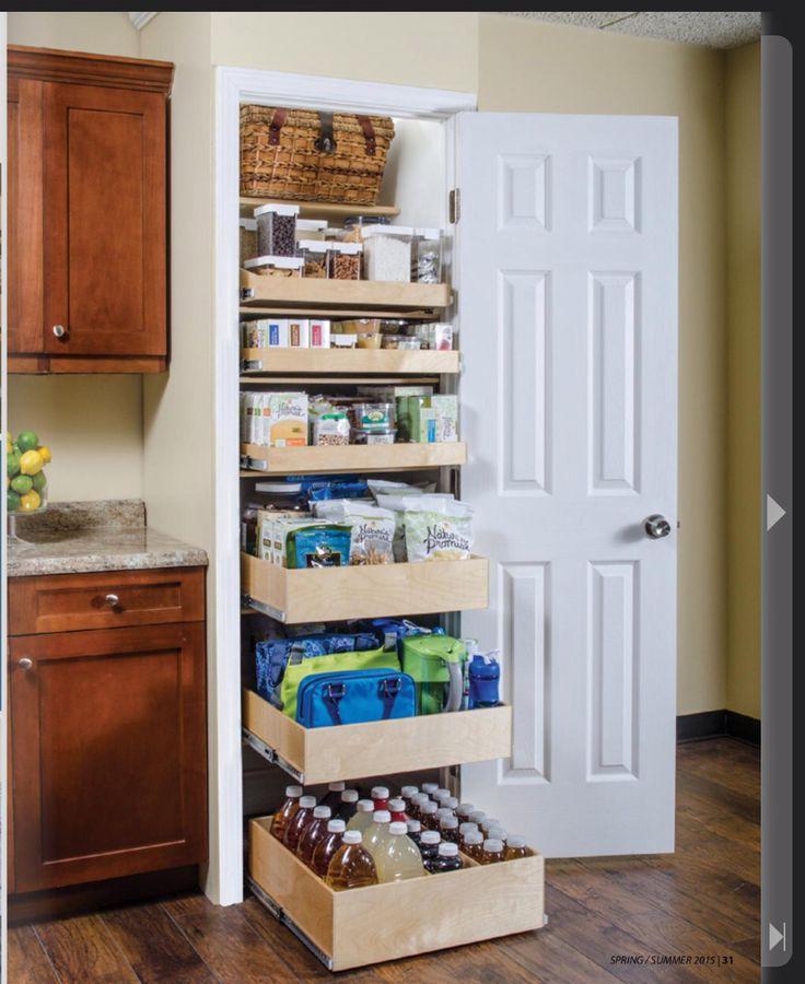 Pantry Drawers Pantry Design Diy Kitchen Storage