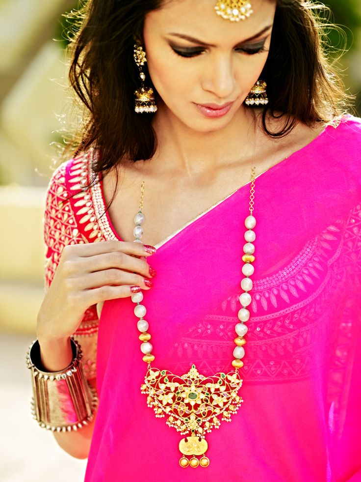 The Jaipur Bride 2013 collection by Anita Dongre. #pink #bridal