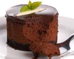 Bavarois au chocolat allégé (facile, rapide) - Une recette CuisineAZ