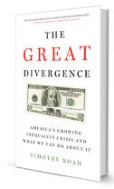 "Timothy Noah, author of ""The Great Divergence,"" gives a response to one of Matthew Yglesias' articles about the book. He gives us some key drivers that have been causing the decline of labor unions. European countries have been increasing unionization while the US is at an all time low. He thinks most of this is attributed to the Taft-Hartley Act of 1947, and if we extended the Civil Rights Act to union members it could start to resolve some of the major problems concerning unions."