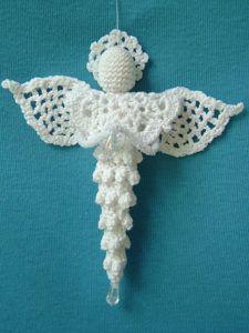 Icicle Angel Crochet Pattern - Christmas Crochet Patterns