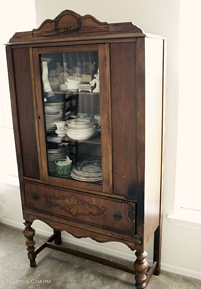 Vintage China Cabinet For The Home Pinterest