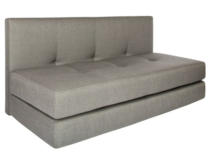 2 seater fabric sofa bed KUBO by AZEA design Victor Caetano