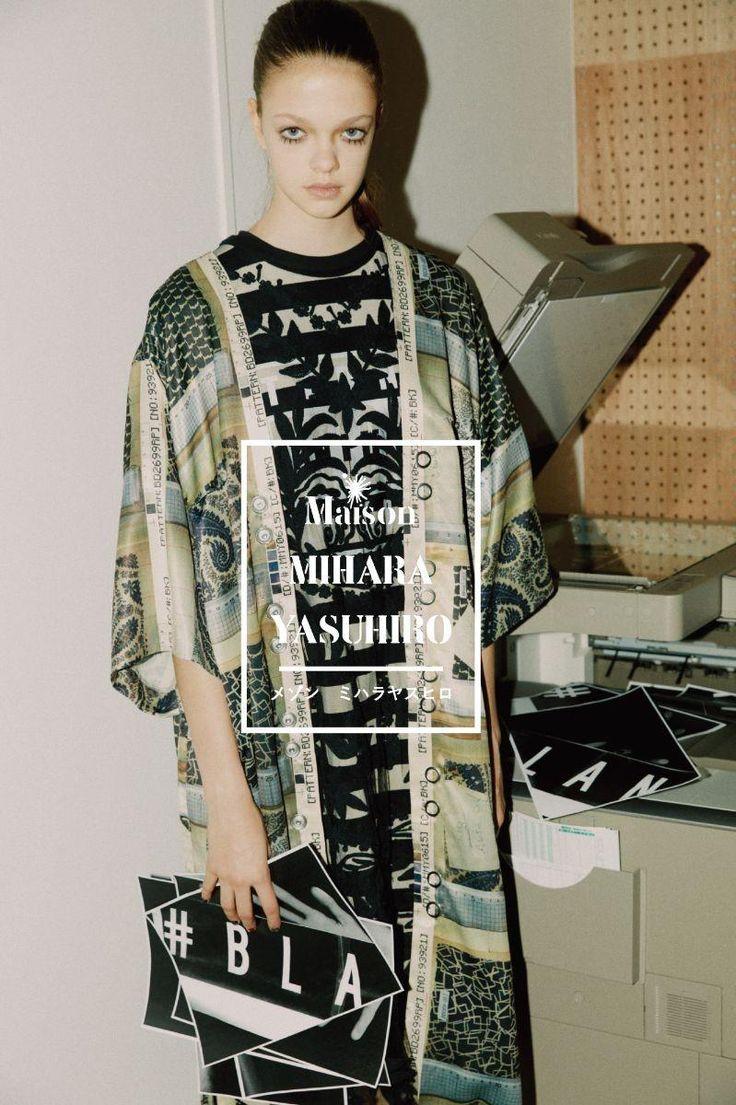Maison Mihara Yasuhiro Spring/Summer 2018 Campaign (Mihara Yasuhiro)