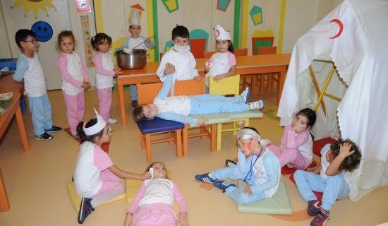 İSTEK'li Minikler, Kızılay Haftası'nı Kutladı - SERİ HABER