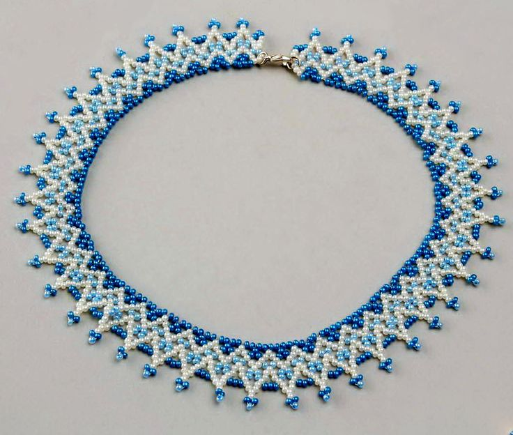Free pattern for necklace Welkin