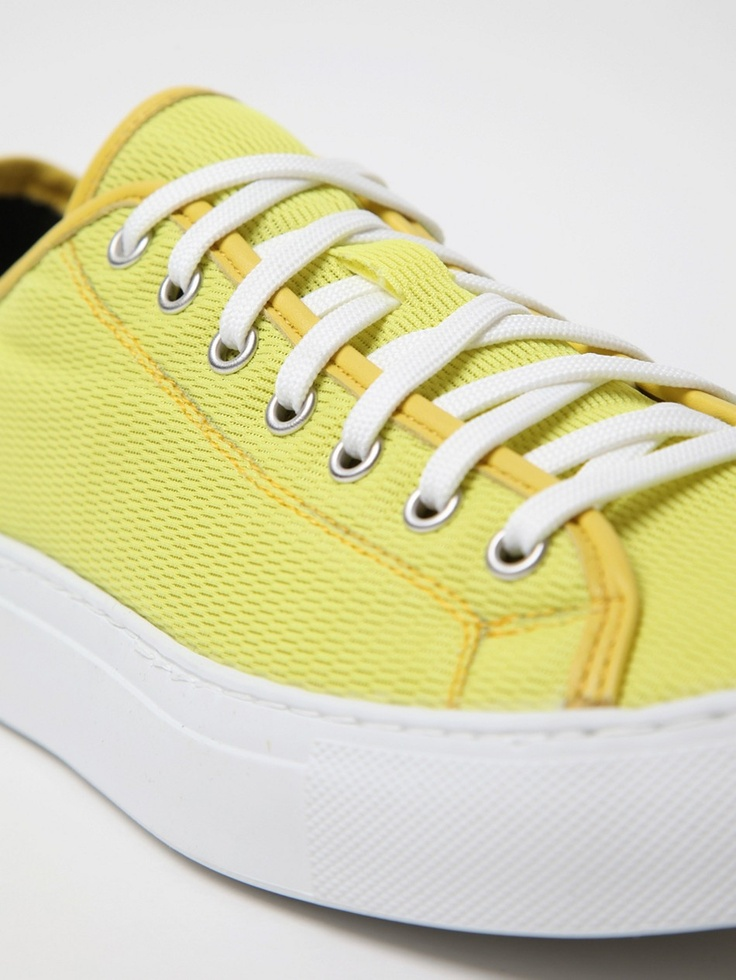 diemme men's veneto low sympatex sneaker in blazing yellow at oki-ni
