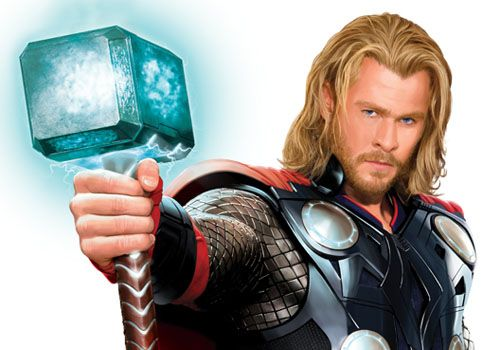 "Saw ""Thor"" again last weekend. I liked it much better the second time. Chris Hemsworth is excellent as Thor. Looking forward to ""the Avengers"" release!"