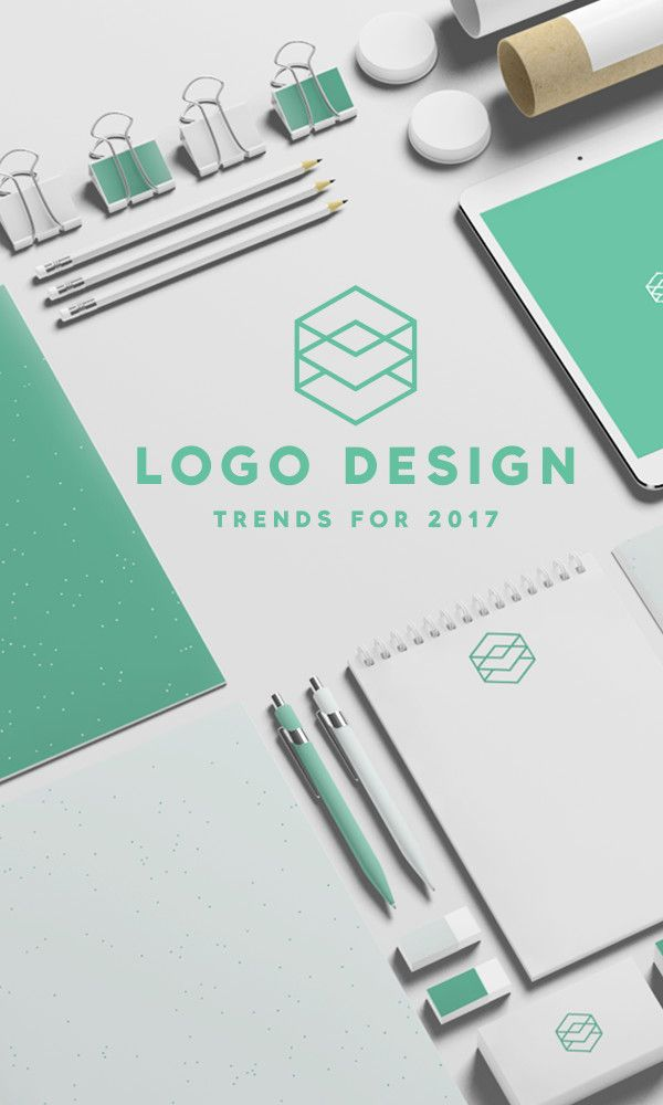 On the Creative Market Blog - Logo Design Trends for 2017