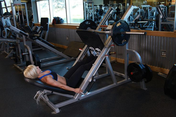 Calf Press On The Leg Press Machine Exercise Guide and Video