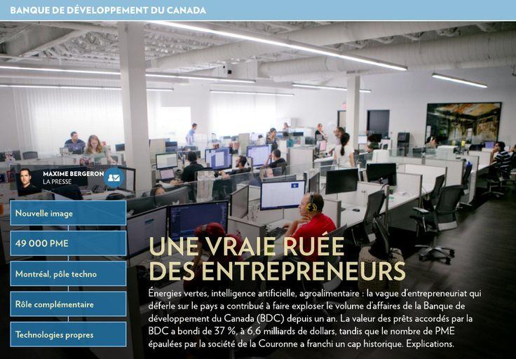 Une vraie ruée des entrepreneurs - La Presse+