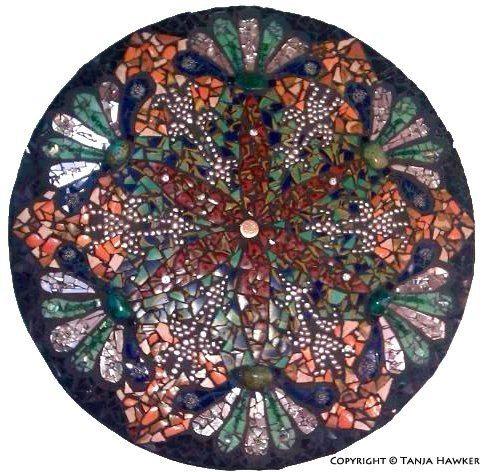 Custom Mosaic Mandala on Etsy, $1,350.00 AUD