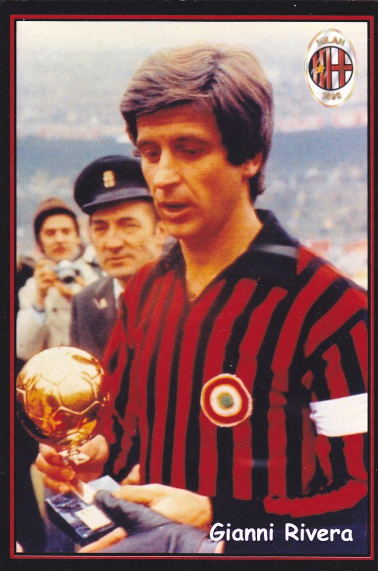 Gianni Rivera è stato il primo giocatore italiano a vincere il Pallone d'oro.