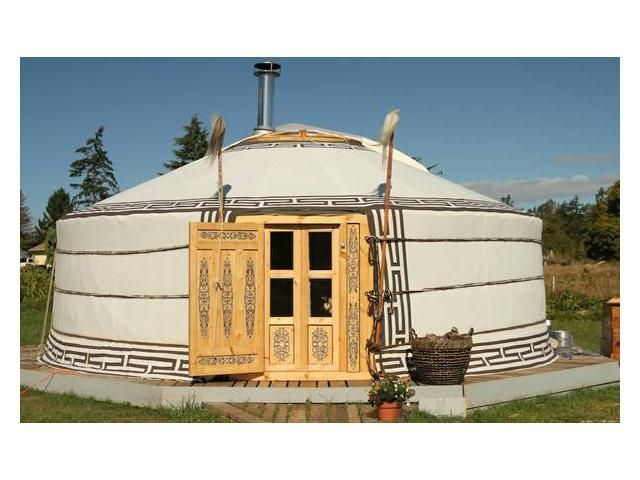 This is COOL!!  Traditional Mongolian Yurt, Superb Craftmanship