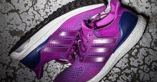 Latest Adidas Shoes Released: adidas Ultra Boost Purple And Blue 2016