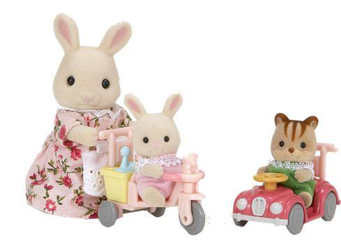 SYLVANIAN FAMILIES babyer - lek på hjul | BR Leker