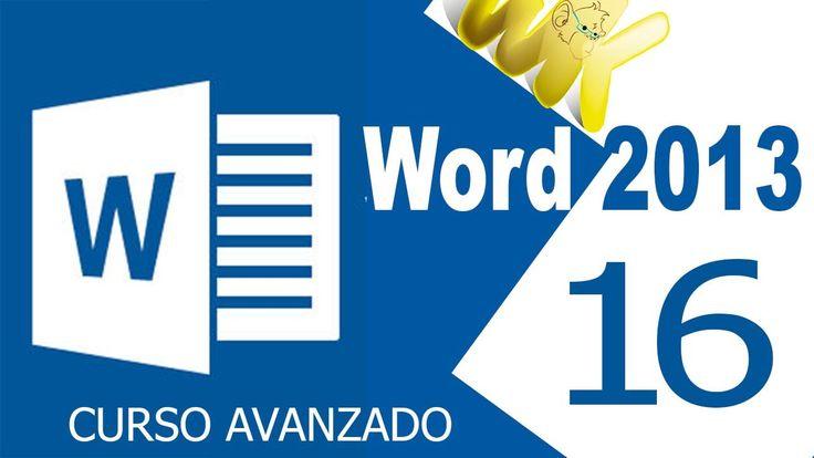 Microsoft Word 2013, Tutorial como crear listas multinivel, Curso avanza...