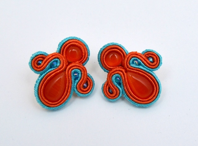 kolczyki sutasz soutache earrings 31